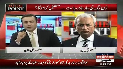 Are you Part of PML -N  -  Nihal Hashmi Response