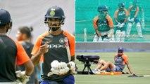 India vs West Indies 2018 : Virat Kohli, MS Dhoni Play Football In Training Ahead Of Guwahati ODI