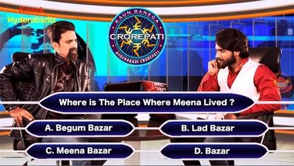 Kaun Banega Hyderabadi Crorepati - Part 1   Kiraak Hyderabadiz Funny Video