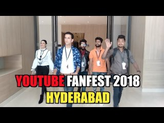 KIRAAK HYDERABADIZ    YOUTUBE FANFEST 2018     #YTFF