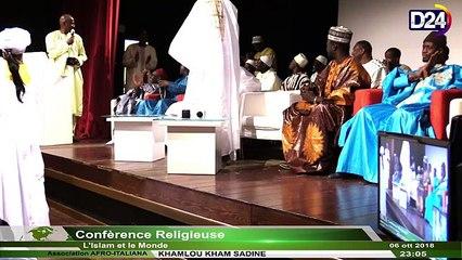 D24TV: Conférence de l'Ass. AFRO-ITALIANA et le DAARA KHAMLOU KHAM SA DINE (1ère Partie)