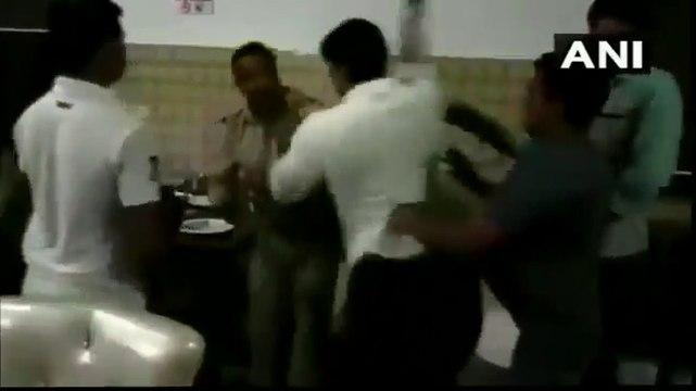 Watch: BJP corporator thrash Sub Inspector, intimidate lady lawyer in Uttar Pradesh