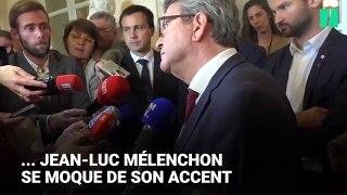 Quand Jean-Luc Mélenchon se moque de l'accent d'une journaliste