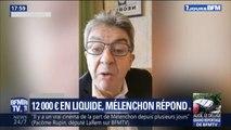 """""""Je ne sais pas de quoi il s'agit."""" Mélenchon répond aux 12.000€ trouvés en liquide chez un de ses proches"""