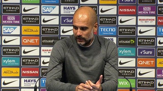 Soccer Manchester City Reaction