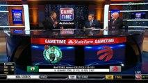 David Griffin & Mike Fratello on Kawhi Leonard & Raptors defeat Celtics 113-101 | NBA GameTime