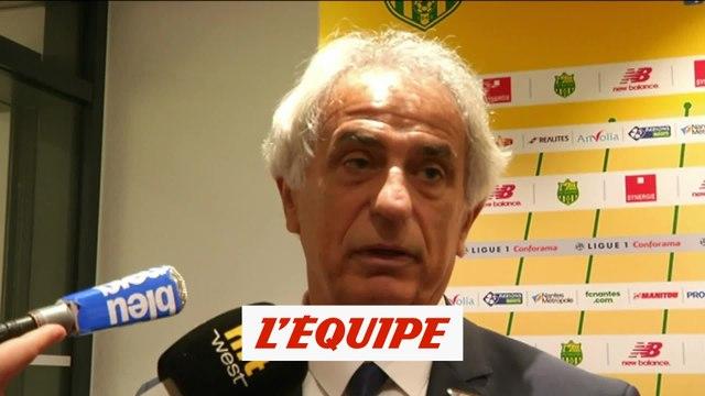 Halilhodzic «La plus belle chose, c'est de gagner un match» - Foot - L1 - Nantes