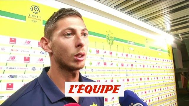 Sala «De l'air et de la confiance pour la suite» - Foot - L1 - Nantes