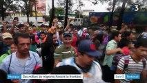 Mexique : des milliers de migrants forcent la frontière