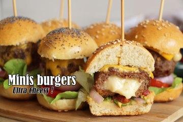 #LGDK : Minis Burger Ultra Cheesy !