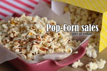 #LGDK : Pop Corn salés, sauce au fromage !
