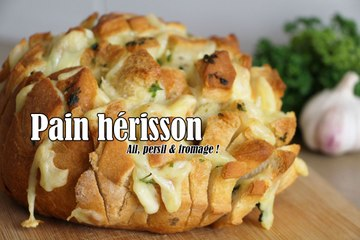 #LGDK : Pain hérisson : Ail, Persil & Fromage
