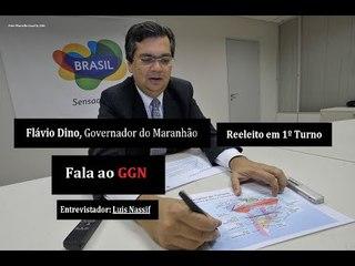 Flávio Dino, governador reeleito em 1º turno no Maranhão