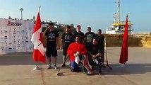 Tournoi Canadacup  #streethockey remportėe par Canada2. Croatie en 3eme place.Mr. Khalid Mrini prėsident  oroccohockey décerne le  trophée aux gagnants. Bravo