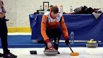 World Curling Tour, Champery Masters 2018, Team Van Dorp (NED) vs Team De Cruz (SUI)