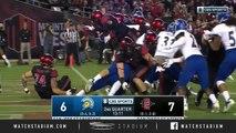 San Jose State vs. San Diego State Football Highlights (2018)