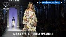 Milan Fashion Week Spring/Summer 2019 - Luisa Spagnoli   FashionTV   FTV