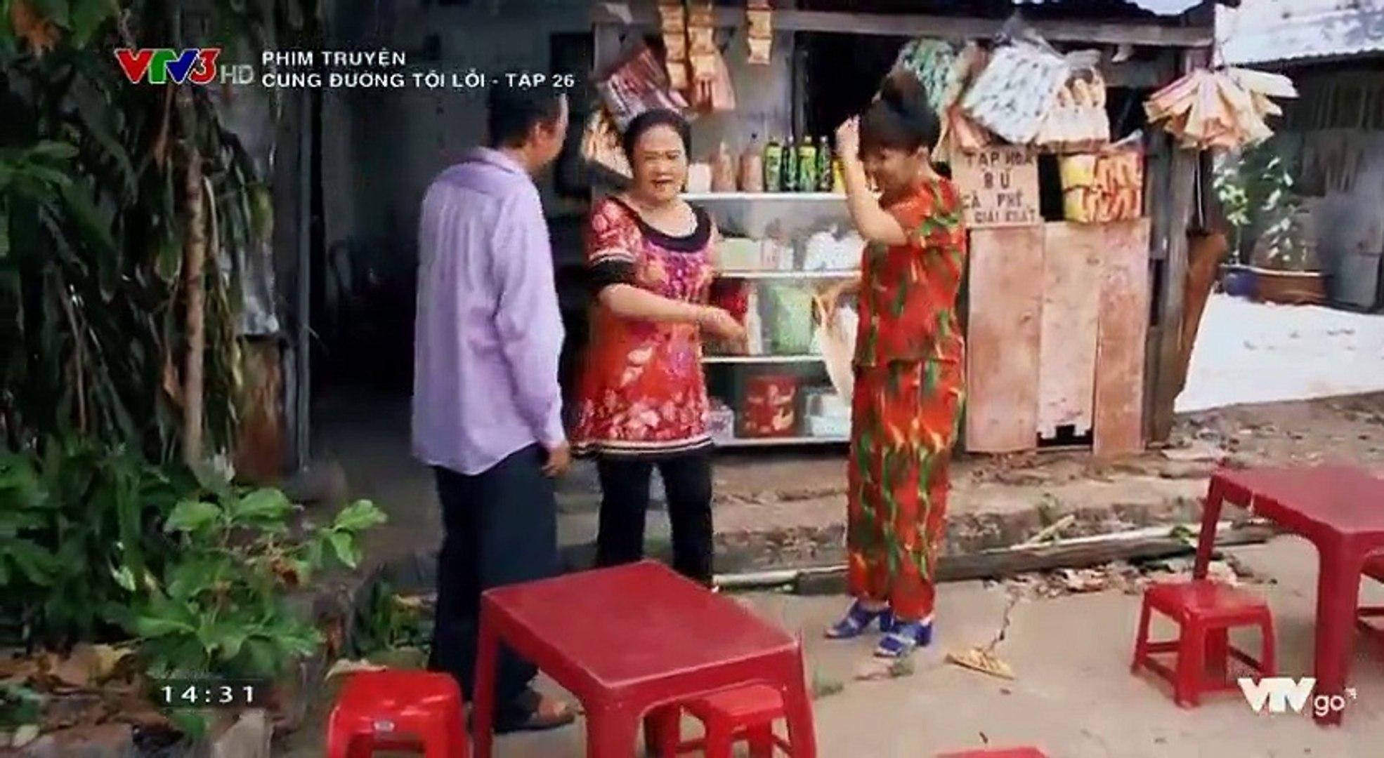 Cung Đường Tội Lỗi Tập 26 - Bản Chuẩn Full - Phim Việt Nam VTV3 Ngày 27/10/2018 - Cung Duong Toi Loi