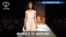 Milan Fashion Week Spring/Summer 2019 - Maryling | FashionTV | FTV