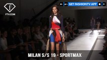 Milan Fashion Week Spring/Summer 2019 - Sportmax   FashionTV   FTV