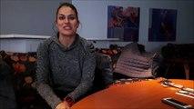 Handball ESBF Besançon Maria Nunez joueuse internationale espagnole a hâte de rejouer