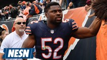 Khalil Mack (Ankle) Will Be Hobbled In Week 7 vs. The Patriots