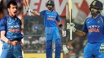 India VS West Indies 1st ODI: Rohit Sharma, Virat Kohli, Chahal, Heroes of India's win | वनइंडिया