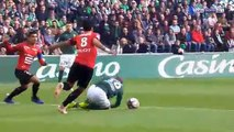 All Goals & Highlights - Saint-Etienne 1-1 Rennes - 21.10.2018 ᴴᴰ