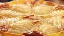 Gourmand - La tarte Bourdaloue aux poires