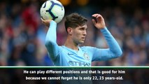 Versatility key for John Stones - Guardiola
