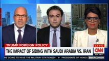 Dr. Quanta Ahmed and Michael Smerconish speaking The Impact of siding with Saudi Arabia VS. Iran. #Iran #Smerconish #News #DonaldTrump #SaudiArabia @MissDiagnosis