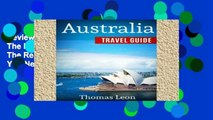 Review  Australia Travel Guide: The Real Travel Guide From The Real Traveler. All You Need To Know