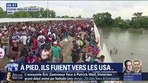 Des milliers d'Honduriens poursuivent leur marche vers les États-Unis