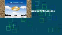 Review  The Essays of Warren Buffett: Lessons for Corporate America