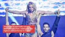 Britney Spears Stays In Vegas