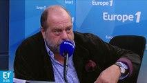 """""""Quand on voit Mélenchon vitupérer et violenter, il ne faut pas s'étonner que des gamins dérapent"""", estime Éric Dupond-Moretti"""