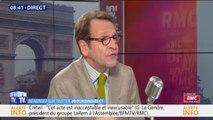 """Gilles Le Gendre affirme que """"l'attitude de Jean-Luc Mélenchon n'est certainement pas un exemple"""""""