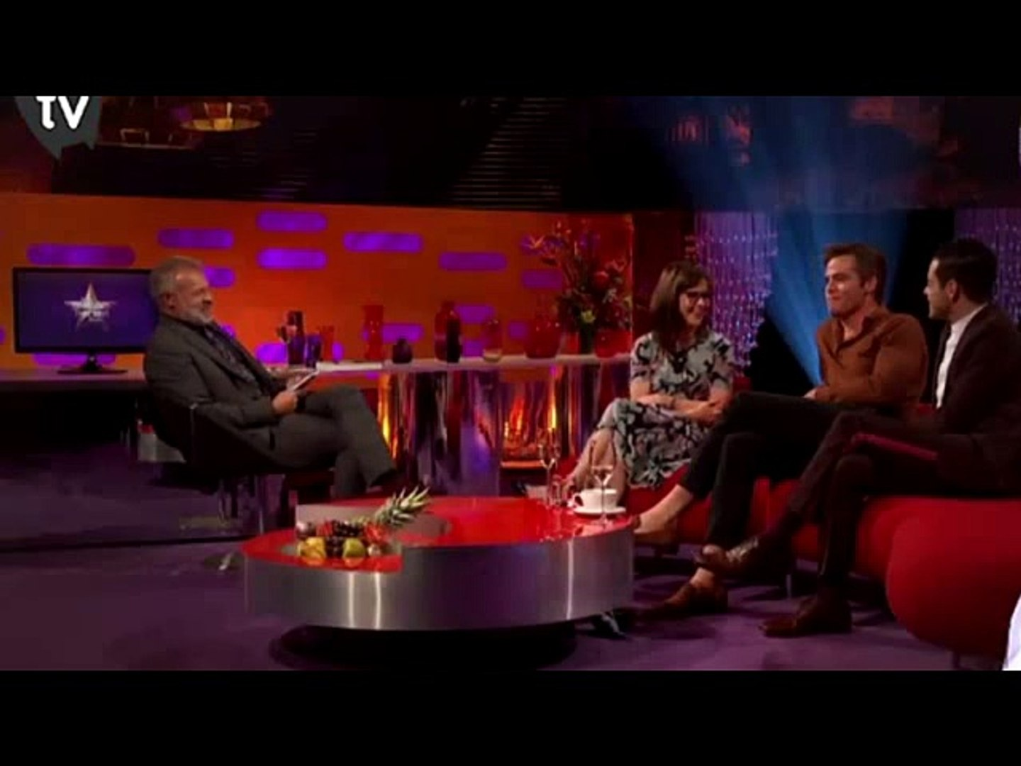 The Graham Norton Show HD S24E04 Full  - Chris Pine, Sir Michael Caine,