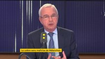 """Critiques de Jean-Luc Mélenchon contre franceinfo : """"Il y a de la graine de dictateur dans cet homme"""", estime Jean Léonetti, vice-président Les Républicains"""