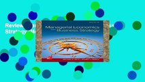 Review  Managerial Economics   Business Strategy (Mcgraw-hill Series Economics)