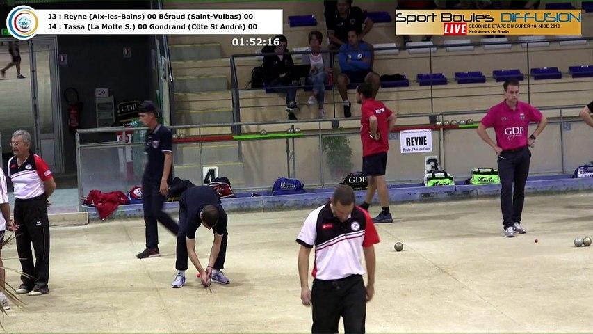 Huitièmes de finale, seconde étape du Super 16 masculin, saison 2018-2019, Nice 2018