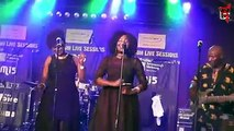 The energy and charm of legendary Zimbabwean musical icon, Oliver Mtukudzi, further heightened the night's edition of the Mascom Live Sessions at BotswanaCraft