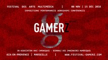 Festival des arts multimedia GAMERZ | 14e Édition - 2018