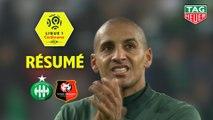 AS Saint-Etienne - Stade Rennais FC (1-1)  - Résumé - (ASSE-SRFC) / 2018-19