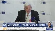 """Gollnisch soutient Mélenchon: """"Il était en colère. Je n'appellerai pas ça une violence inouïe"""""""