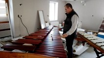 Thierry Heuvrard est percussionniste et fabricant de xylophones