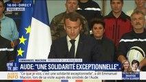 Macron veut davantage financer les travaux de sécurisation des bâtiments en zone inondables