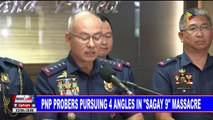 """PNP probers pursuing 4 angles in """"Sagay 9"""" massacre"""