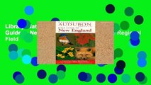 Library  National Audubon Society Field Guide to New England (Audubon Society Regional Field