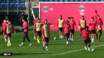 Kapitan RM Sergio Ramos wyładowuje swoje frustracje na nowo promowanym zawodniku Reguilon na treningu.